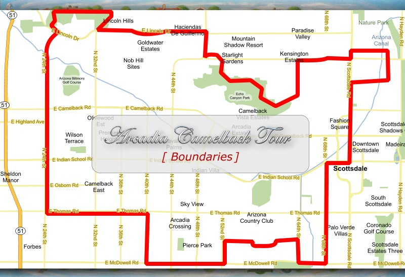 Tour Boundaries Map